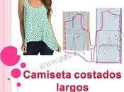 Camiseta costados largos. Tema