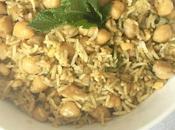 Finde frugal: garbanzos arroz Basmati estilo oriental
