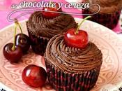 Cupcakes chocolate cereza cherry cupcakes