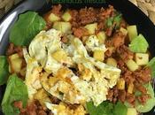 Huevos Rotos Picadillo Espinacas Frescas