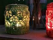 Portavelas coloradas Crochet!!!!