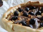 Pissaladiere... tarta nizarda cebolla, aceituna anchoas