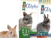 Alpha junior rabbit, alimentación all-in-one para conejo crezca sano