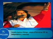 Carmela Apolaya: NUNCA DEBEMOS DEJAR SENTIRNOS ORGULLOSOS PERUANOS…