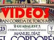 Varios videos Festejo Taurino celebrado Almadén 23/07/2016