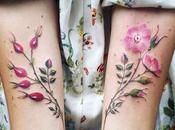 Increíbles tatuajes botánicos