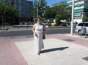 Look vestido largo verano abertura lateral
