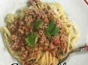 Spaghetti Carne Verduras