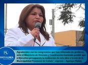 Vicente Cañete: CONSTRUCCIÓN PISTAS VEREDAS URBANIZACIÓN LIBERTAD REALIDAD…