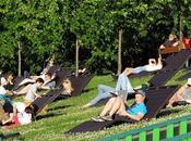 Parque Gorki playas Moscú