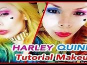 Makeup tutorial harley quinn