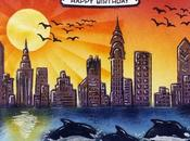 "Tarjeta: ""Happy Birthday"" tintas Distress"