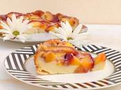 Receta pastel nectarinas (Tarta pelones)