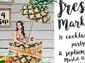 Fresh Market Cocktails Party