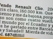 anuncio para vender Renault Clio hecho viral