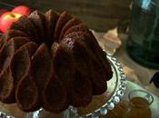 Apple toasted pecan bundt cake with syrup #BundtBakers