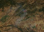 Incendio forestal Extremadura (Jerte): Imagen satélite 21.08.2016