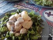 Ensalada patata alemana. Kartoffelsalat