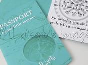 Invitaciones Boda: Pasaporte Tarjeta Embarque