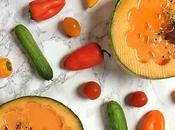 Gazpacho melón Cantalupo {Cantaloupe Gazpacho}