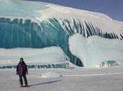 Montañas hielo