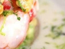 Tartar (acevichado) carabineros, ajoblanco vinagreta fruta pasión [#Motinasaltablog]