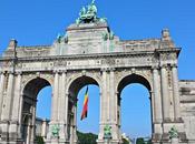 BRUSELAS Parte: Parque Cincuentenario Arco Triunfo Atomium Grand Place