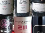 Cata monovarietales Sauvignon Blanc, Chardonnay Pinot Noir