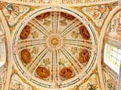 Iglesia Hospital Venerables (7): cúpula, bóveda órgano.
