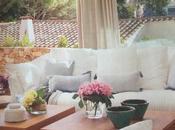 Decoración textil para estilo mediterráneo