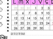 Vuelta cole: calendario