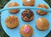 Cupcakes crema cacahuete chocolate