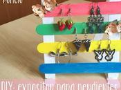DIY: expositor para pendientes.
