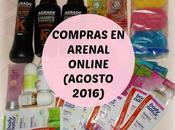 Compras Arenal Online (Agosto 2016)
