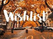 Wishlist Otoño