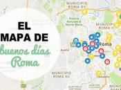 mapa buenos días Roma