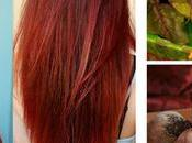 Receta casera para pintar cabello color rojo manera natural