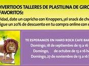 Talleres infantiles Clayrocks! Hard Rock Cafe