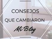 Consejos cambiaron blog (1): aspecto