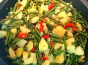 Judias verdes patatas pimiento
