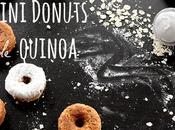 Mini donuts quinoa cereales Hero Línea