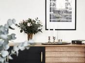 Combinar muebles vintage minimalismo