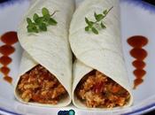 Tacos pollo tomate olla