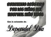Dependel Día, concierto acústico niños Hospital Niño Jesús