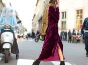 Cómo combinar vestido terciopelo