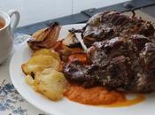 Carrilleras cerdo horno patatas