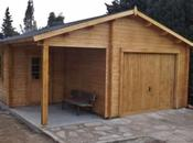 Garaje madera Roger 530x570 AIRES JARDIN Vallbona d'Anoia (LLEIDA)