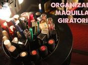 ORGANIZADOR giratorio maquillaje (Amazon)