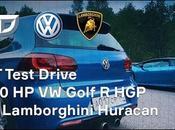 Pique Golf Lamborghini Huracan quien gana?