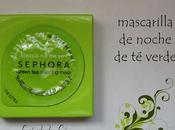 SEPHORA, mascarilla noche verde.